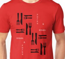 Knives and Forks Unisex T-Shirt