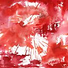 Red 710 Abstract by Sean Seal