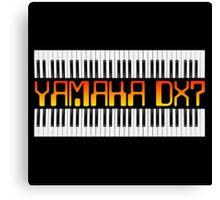 Vintage Yamaha DX-7 Synth Canvas Print
