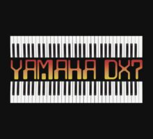 Vintage Yamaha DX-7 Synth One Piece - Short Sleeve