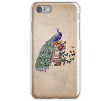 Vintage Peacock Beauty iPhone Case/Skin