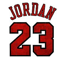 Jordan 23 Worn Photographic Print