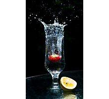Freezing Fruits Photographic Print