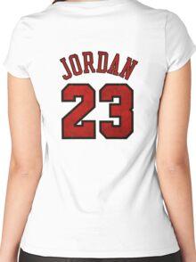 Jordan 23 Worn Women's Fitted Scoop T-Shirt