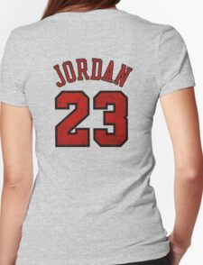 Jordan 23 Worn Womens Fitted T-Shirt