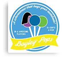 Bayley Pops Canvas Print