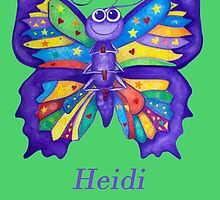 A Yoga Butterfly for Heidi by Monica Batiste
