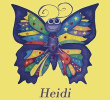 A Yoga Butterfly for Heidi Kids Tee