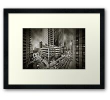 City feel Framed Print