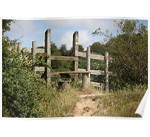 A country stile Poster
