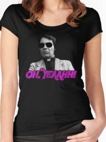 Rev. Jim Jones - Oh, Yeaahh! Women's Fitted Scoop T-Shirt