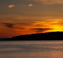 Portencross  Sunset by Paul Messenger