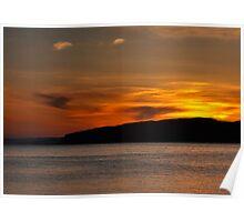 Portencross  Sunset Poster