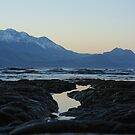 Kaikoura coast, evening light by lukasdf