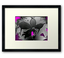 Fantasy Flower © Framed Print