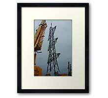 """""""Tower Pickup"""" Framed Print"""