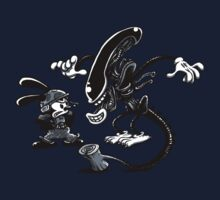 Alien vs Oswald Kids Clothes