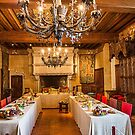 France. Langeais. Château de Langeais. Dining Hall. by vadim19