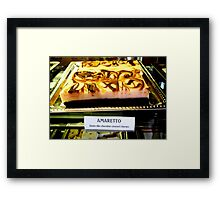 """Amaretto Bars"" Framed Print"