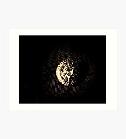 Button. Art Print