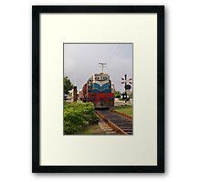 Sri Lanka express Framed Print
