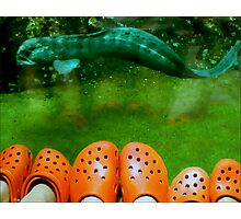 Crocs Are Recycled! Photographic Print