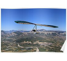Hang Glider, British National Championships Poster