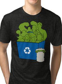 It's Easy Going Green Tri-blend T-Shirt