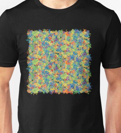 Colourful plants, rainbow T-Shirt