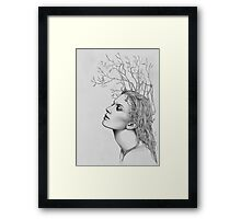 Autumn love Framed Print
