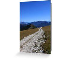 Aspres-sur-Buëch, Hautes-Alpes, Provence-Alpes-Côte d'Azur, France Greeting Card