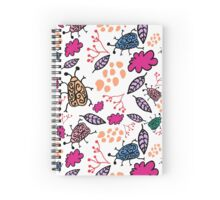 coloured beetles  Spiral Notebook