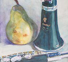Duet for a Pear by JennyArmitage