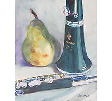 Duet for a Pear Photographic Print