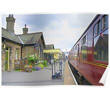 Embsay Station Poster