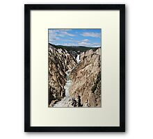 Grand Canyon of Yellowstone Park Framed Print