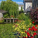 France. Langeais. Pond and Garden. by vadim19