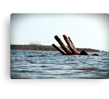 View from the Shore. Canvas Print