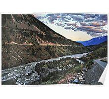 The Fraser River &  Bridge River Poster