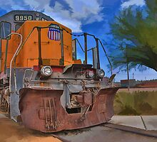 Union Pacific 9950 by Michael  Gunterman