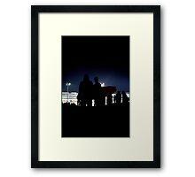 Night Surf 2 Framed Print