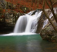 Slick Creek Falls by JLBphoto