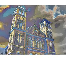 Halifax Cathedral, Nova Scotia, Canada Photographic Print