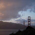 Golden Sunset/Golden Gate by Tama Blough