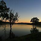 Wyaralong sunrise by CaDra