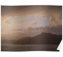 Soft Sunset Poster