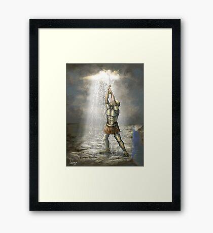 Prophetic Painting for Egypt for 2011 Framed Print