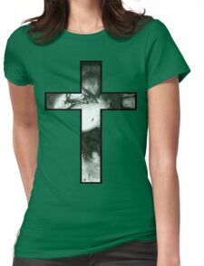 Decay Cross Womens Fitted T-Shirt