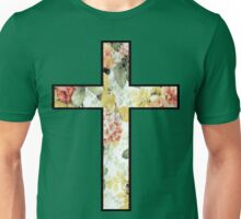 Flowers Cross Unisex T-Shirt