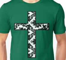 Floral Cross Unisex T-Shirt